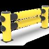 "Traffic Barrier - double rail ""Hotel"""