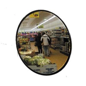 Miroir magasin de surveillance avec bras de fixation