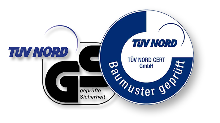 Dancop - TÜV Certificates and Confirmations