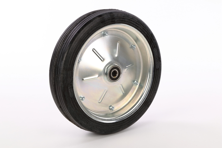 Spare wheel for trailer stand